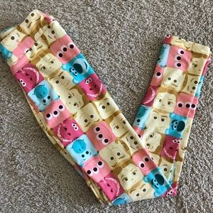 L/xl LLR kids Disney Leggings